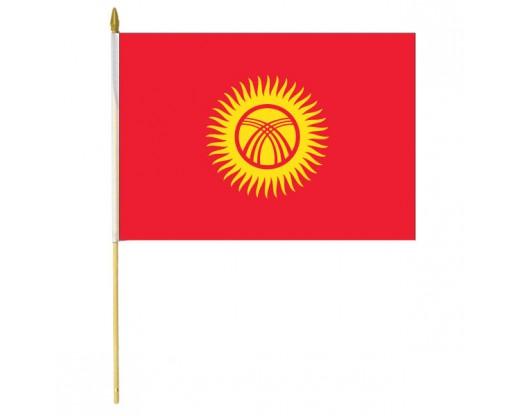 Kyrgyzstan Stick Flag