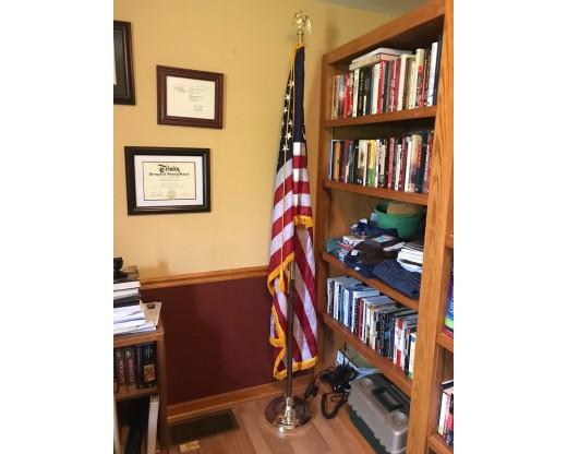 American Indoor Flag Set