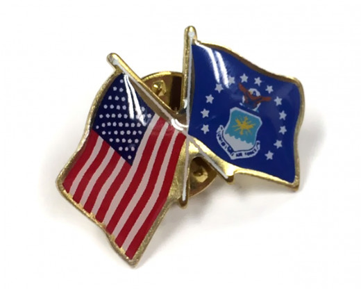 Air Force Flag Lapel Pin