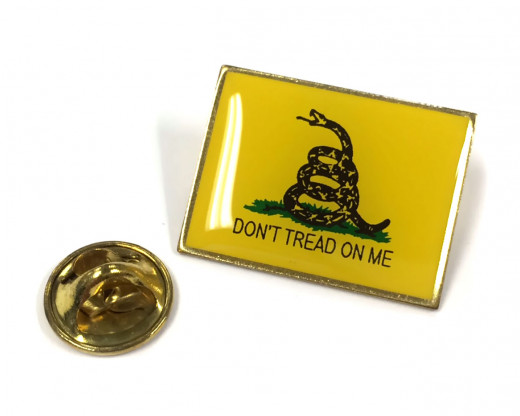 Gadsden Lapel Pin Clutch