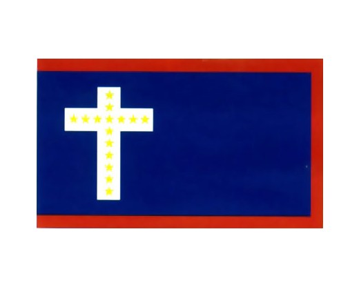 Latin Cross Missouri Belle Edmondson Flag - 3x5'