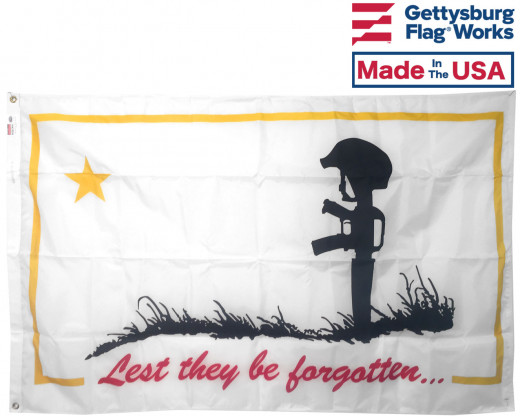 Lest They Be Forgotten Flag