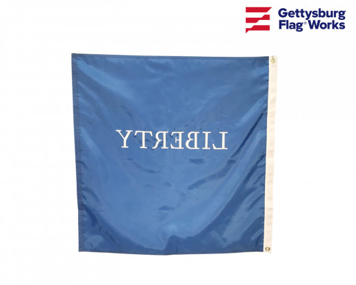 Liberty flag back