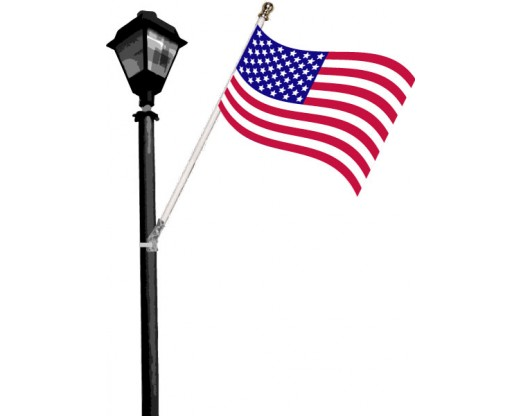 Light Pole Flag Set