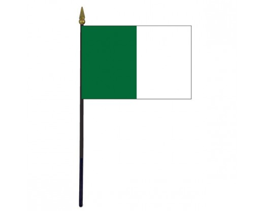 Limerick County Stick Flag (Ireland) - 4x6""