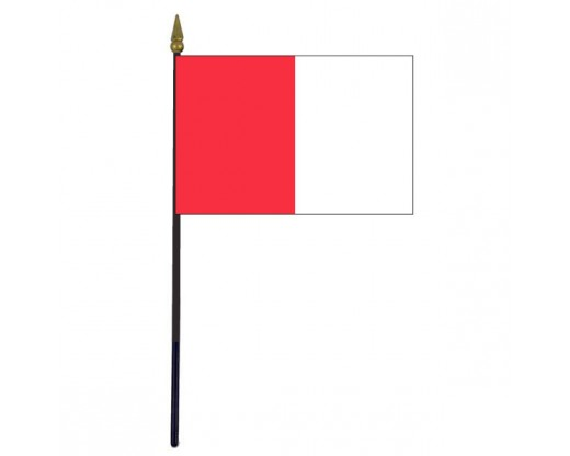 Louth County Stick Flag (Ireland) - 4x6""