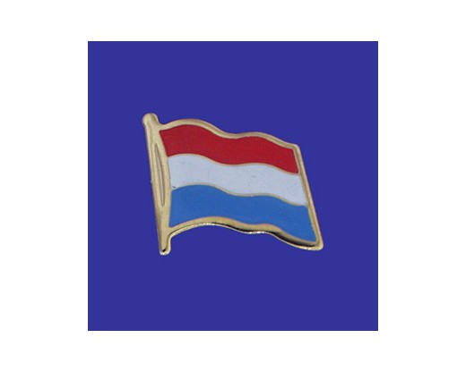Luxembourg Lapel Pin (Single Waving Flag)