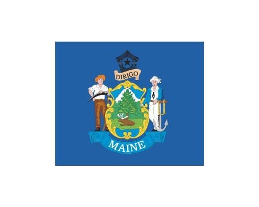 Maine Flag - Outdoor