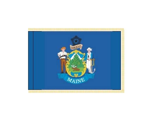 Maine Flag - Indoor