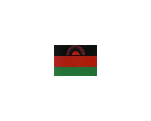 Malawi Flag (2010-2012) - 5x8' - Header & Grommets