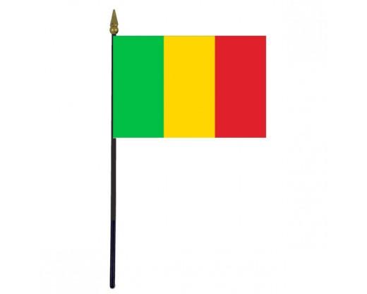"""Mali Stick Flag - 4x6"""""""