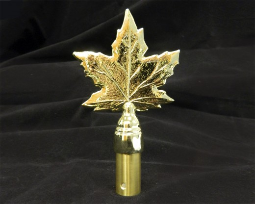 "Maple Leaf, 5.25""Gold"