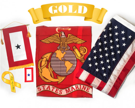 Marine Corps Graduation Gold Package