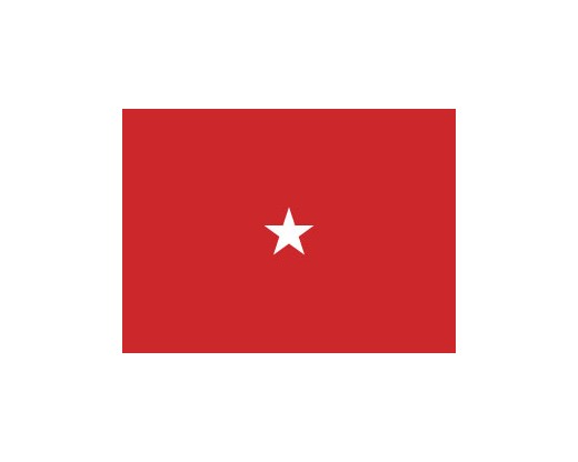 Marine Brigadier General Flag (1 Star) - 3x5'