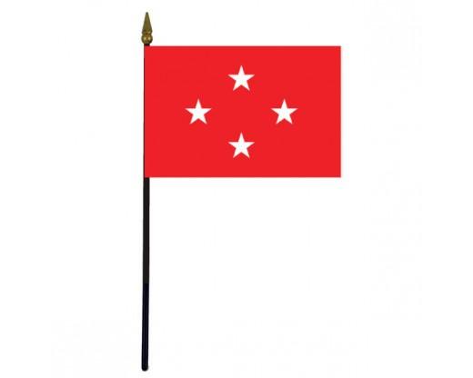 "Marine Corps General Stick Flag - 4x6"""