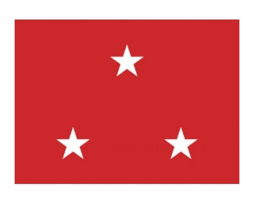 Marine Corps Lieutenant General (3 Star ) - Marine Corps Officer Outdoor Flags