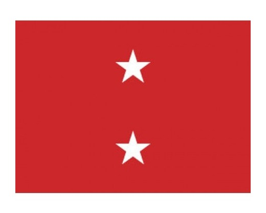 MARINE CORPS MAJOR (2 STAR) GENERAL - Indoor Marine Officer Flags