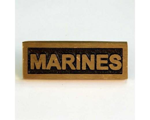 Marine Insignia Plaque