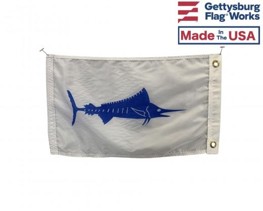 """Marlin Flag - 12x18"""""""