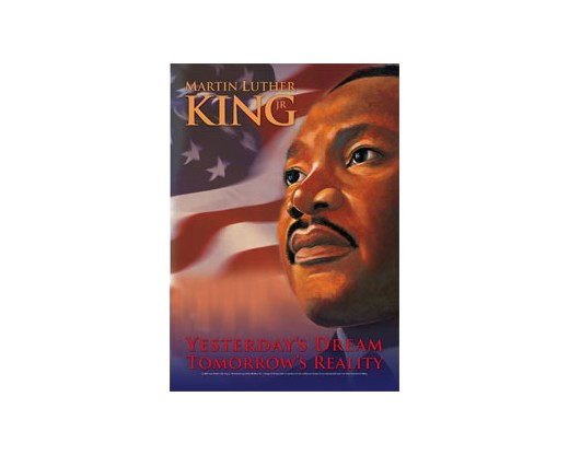Martin Luther King Jr House Banner