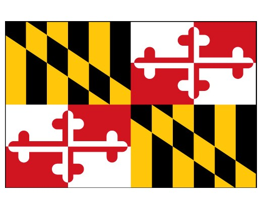 Maryland Flag - Outdoor