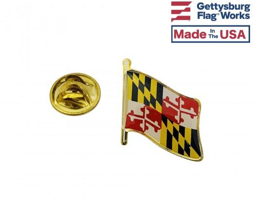Maryland lapel pin