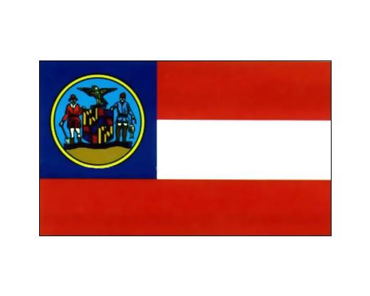 Maryland Winder Calvary Flag - 3x5'
