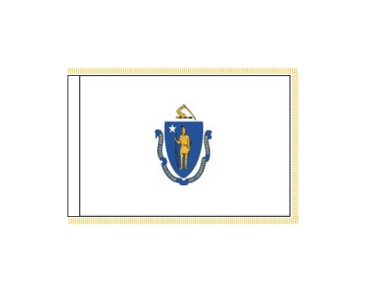 Massachusetts Flag - Indoor
