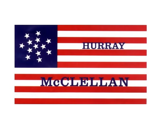 McClellan Election Flag - 3x5'
