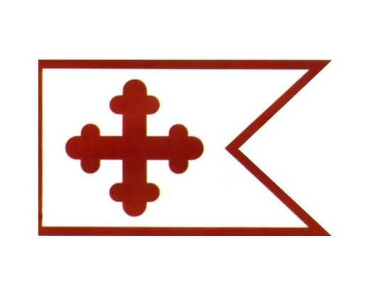 MD line HQ Maj Gen Bradley Johnson Flag - 2x3.4'