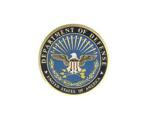 Department Of  Defense Medallion