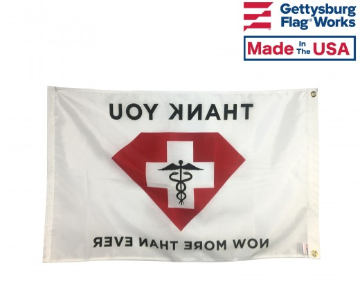 Health Care/Medical Thank you Flag