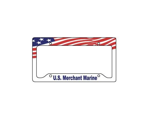 Merchant Marine License Plate Frame