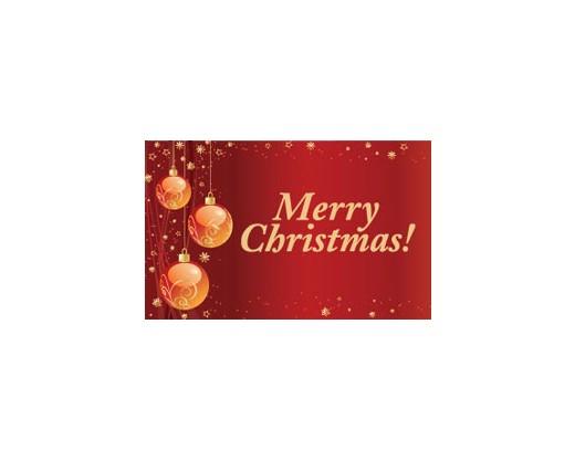 Merry Christmas Flag - 3x5'