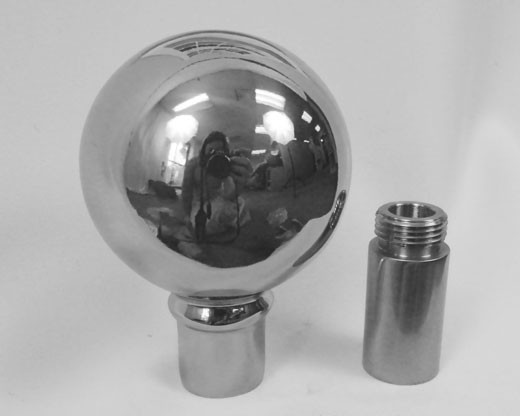 Silver Parade Ball with Ferrule