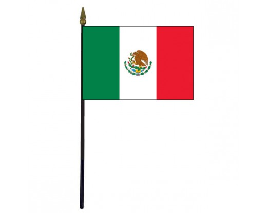 Mexico Stick Flag