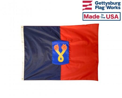 196th Light Infantry Brigade Flag - 3x4'