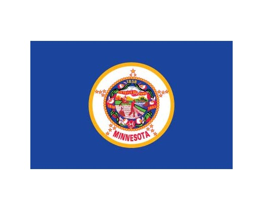 Minnesota Flag - Outdoor