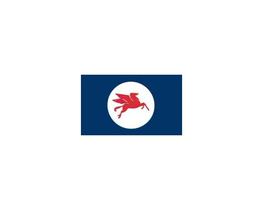 Mobil Horse Flag