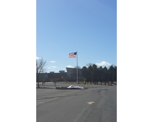 Fiberglass Flag Pole for School
