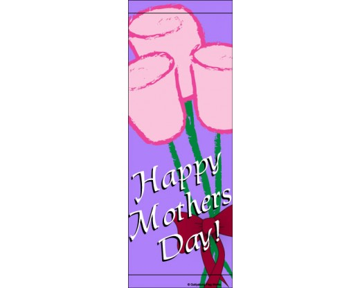 Mother's Day Roses Avenue Banner