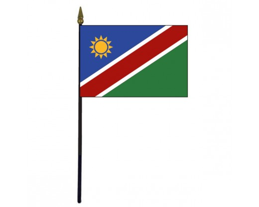 Namibia Stick Flag - 4x6""