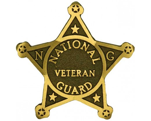 National Guard Bronze Grave Marker
