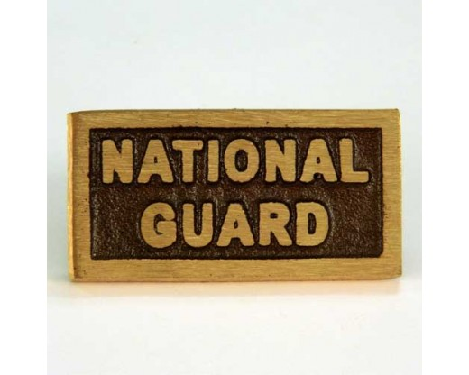 National Guard Insignia Plaque