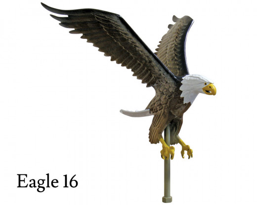 Flying Eagle 16, Natural Aluminum