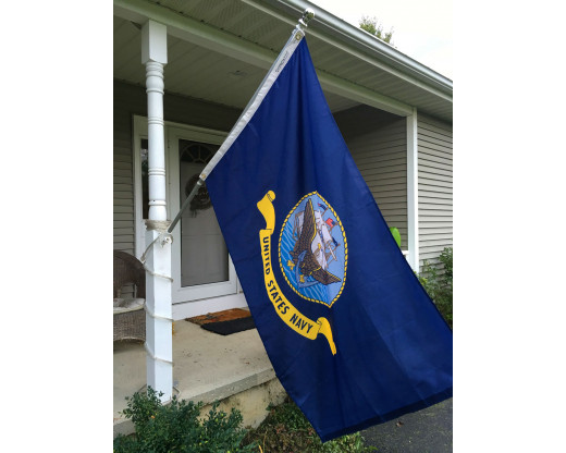Navy Flag Flying