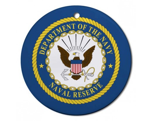Christmas Ornament Navy Reserved