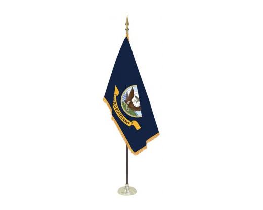 Navy Indoor Flag Set