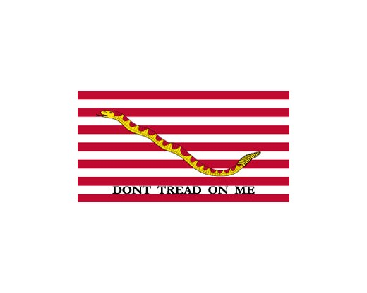 First Navy Jack Flag - 3x5'