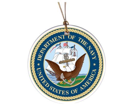Christmas Ornament Navy